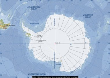 Fläche Antarktis